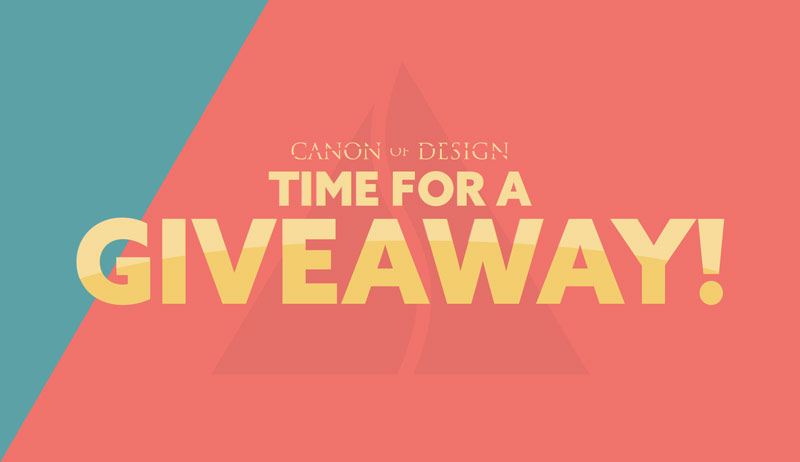 Canon of Design $1500 Giveaway [20 Winners]