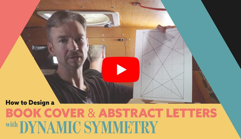 dynamic-symmetry-How-to-design-a-book-cover-and-abstract-letters-video-youtube