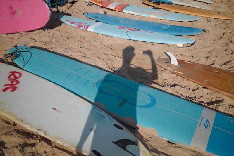 Street Photography and Ricoh GR III-3-Waikiki Hawaii-_T002064-shadow-selfie-aspective-view
