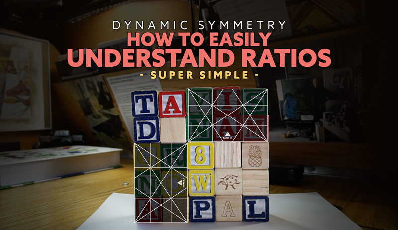 Dynamic Symmetry: How to Easily Understand Ratios (Super Simple)