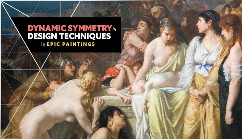 Dynamic Symmetry and Design Techniques in Epic Paintings (Paris Video)