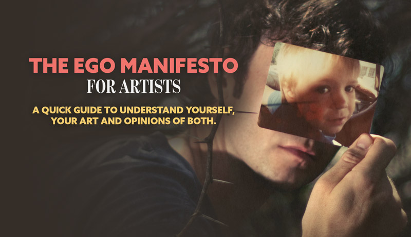 The Ego Manifesto for Artists-Quick Guide (PDF Download)