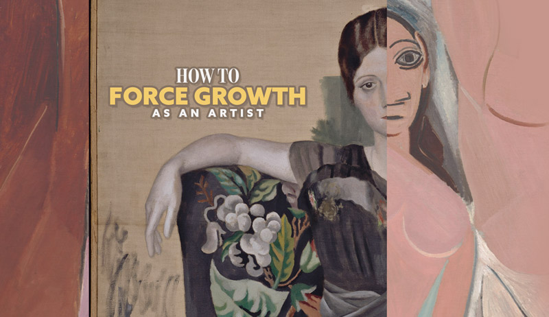 How to Force Growth as an Artist (Fun Video)