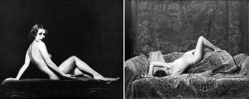 Nudity in Art-Michelangelo and More-Alfred Cheney Johnston-comparison-1