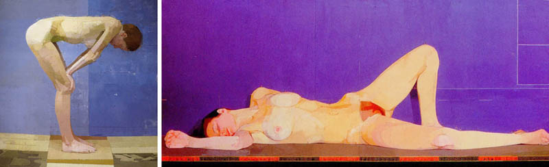 Nudity in Art-Michelangelo and More-Euan Uglow-comparison-1