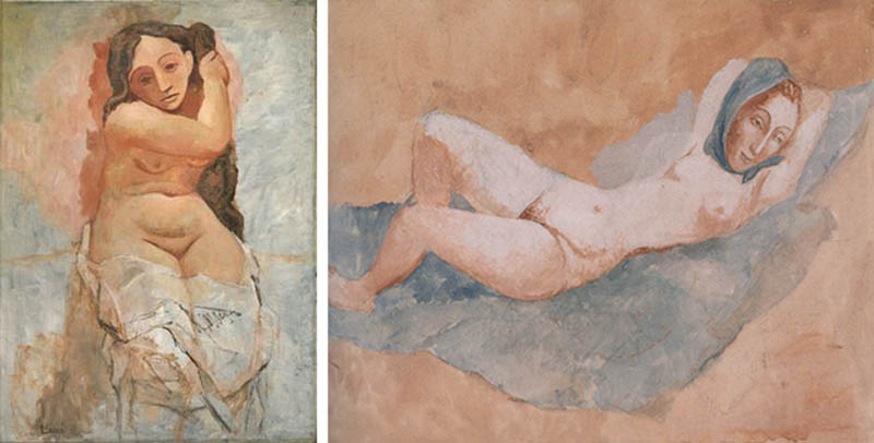 Nudity in Art-Michelangelo and More-Pablo Picasso-comparison-3
