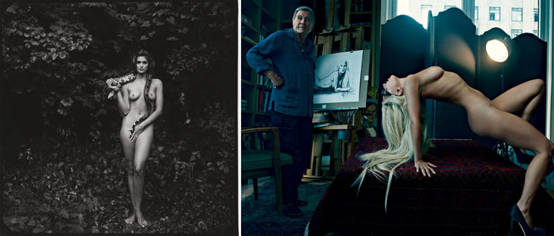 Nudity in Art-Michelangelo and More-annie leibovitz comparison-2