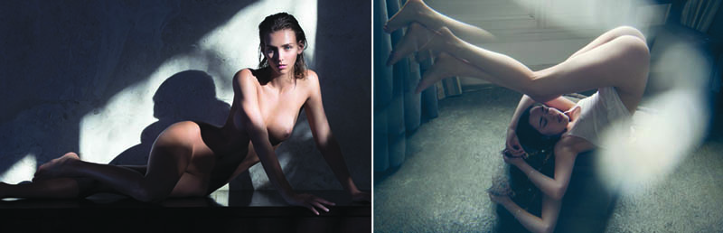 Nudity in Art-Michelangelo and More-david-bellemere comparison-2